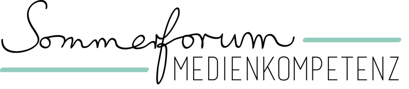 Logo Sommerforum Medienkompetenz