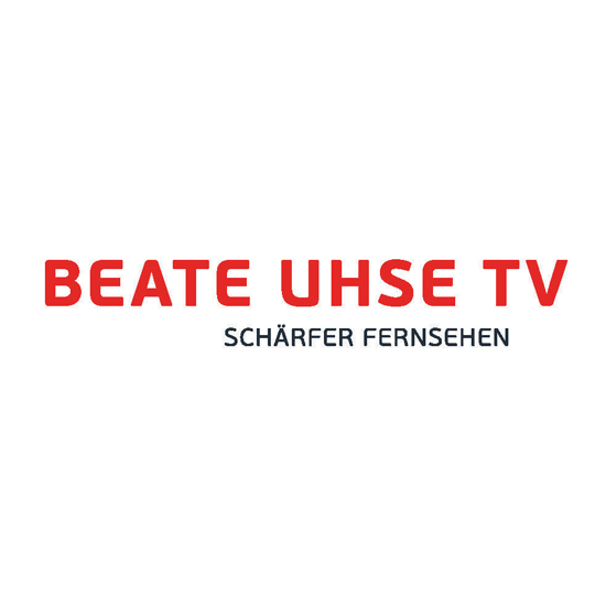 Website Beate Uhse TV